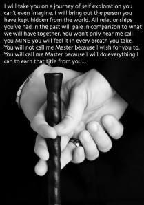 I will take you