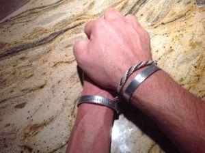 Craig and I bracelets
