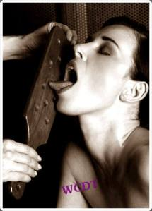 A lick of wood
